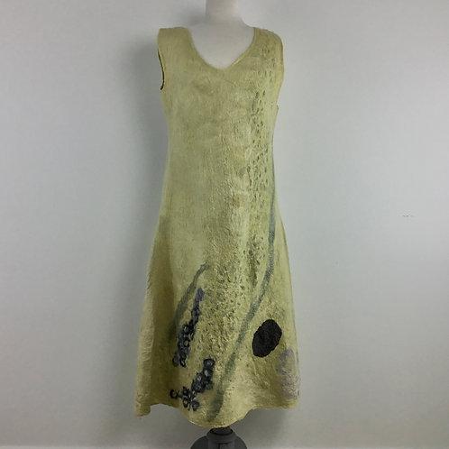Sage Cascade Dress
