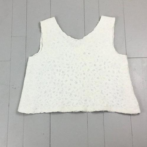 White Boxy Nuno Top ND67