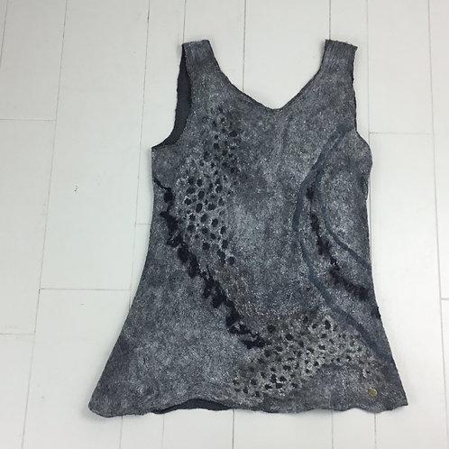 Grey & Black Nuno Tunic ND48