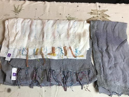 Silk Chiffon Shawls