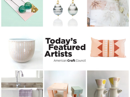 Featured Artist - Thursday with American Craft Council