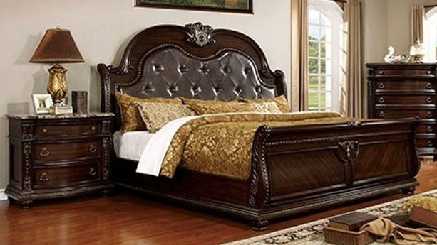 Furniture of America Fromberg 2pc Bedroom Set with Queen Bed