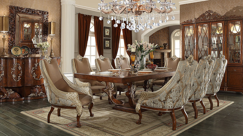 HD-124 – 7PC DINING TABLE SET