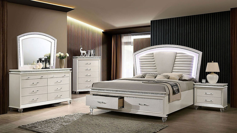 Maddie Storage Queen Bedroom Set