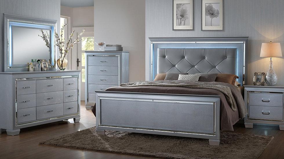 Lillian Panel Bedroom Set Lillian Panel Bed (Queen)