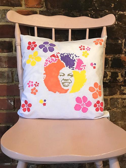 Retro Chic & Baubles - Cushion Art