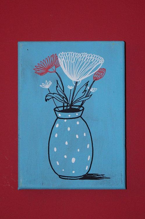 Hello Dotty! - Original art on canvas