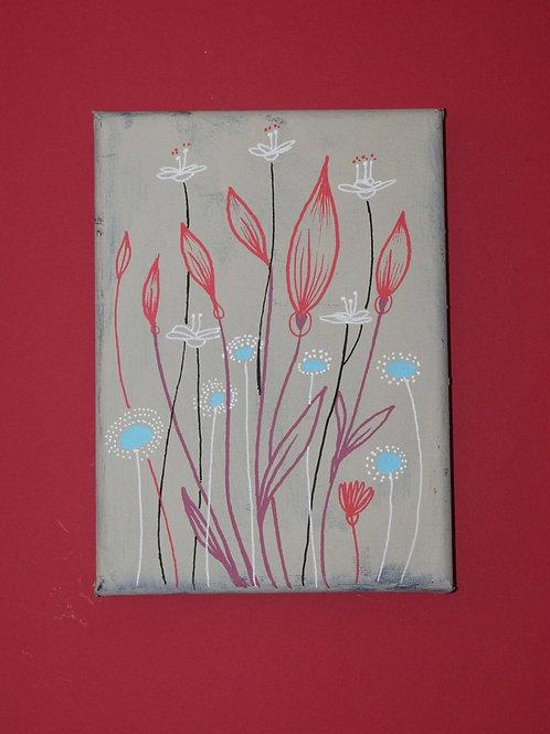 Wildflower - Original Art on Canvas