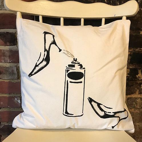 Heels - Graffiti Cushion Art