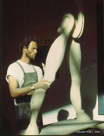 Rick working on Legs.jpg