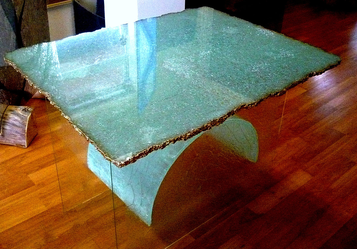 Silastial Shatter Glass Tabletop