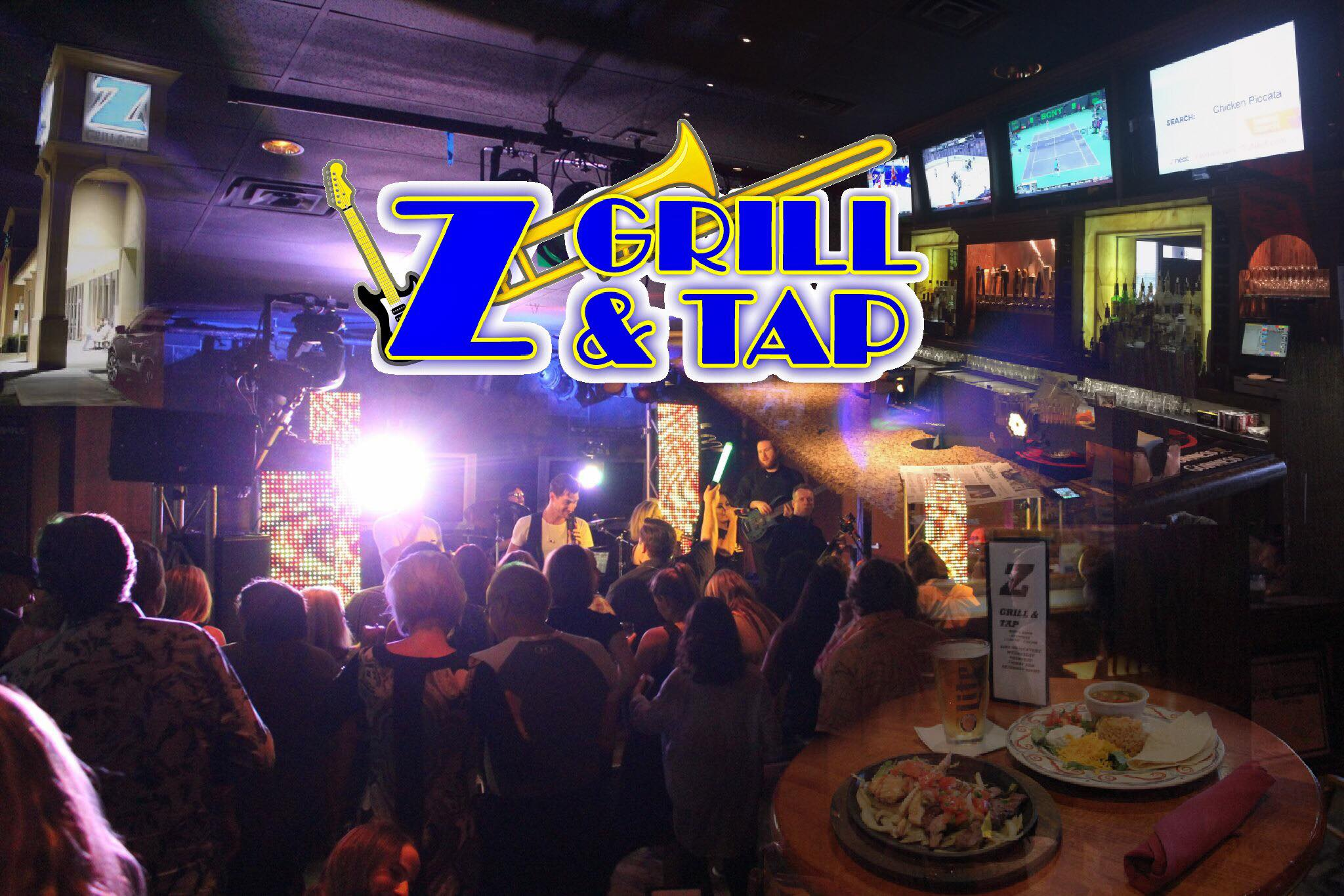 New Restaurant Best Live Music In Dfw Z Grill And Tap Flower Mound
