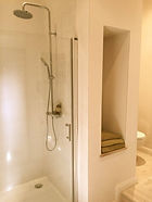 Gite family shower room