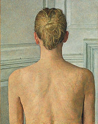 Back View of Emma, 74.9 x 58.4 cms-807x1