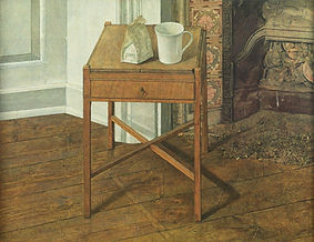 Still Life with Table and Fireplace, 94.