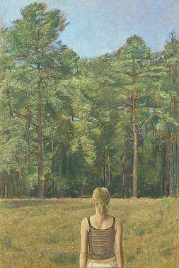 Beyond the Pines,110.5 x 75 cms-686x1024