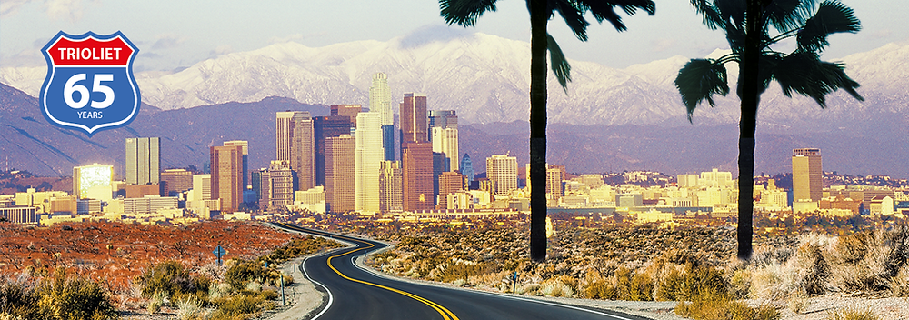 Trioliet, viaje a California