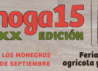 FEMOGA 2015, Feria industrial, agrícola y ganadera de los Monegros.