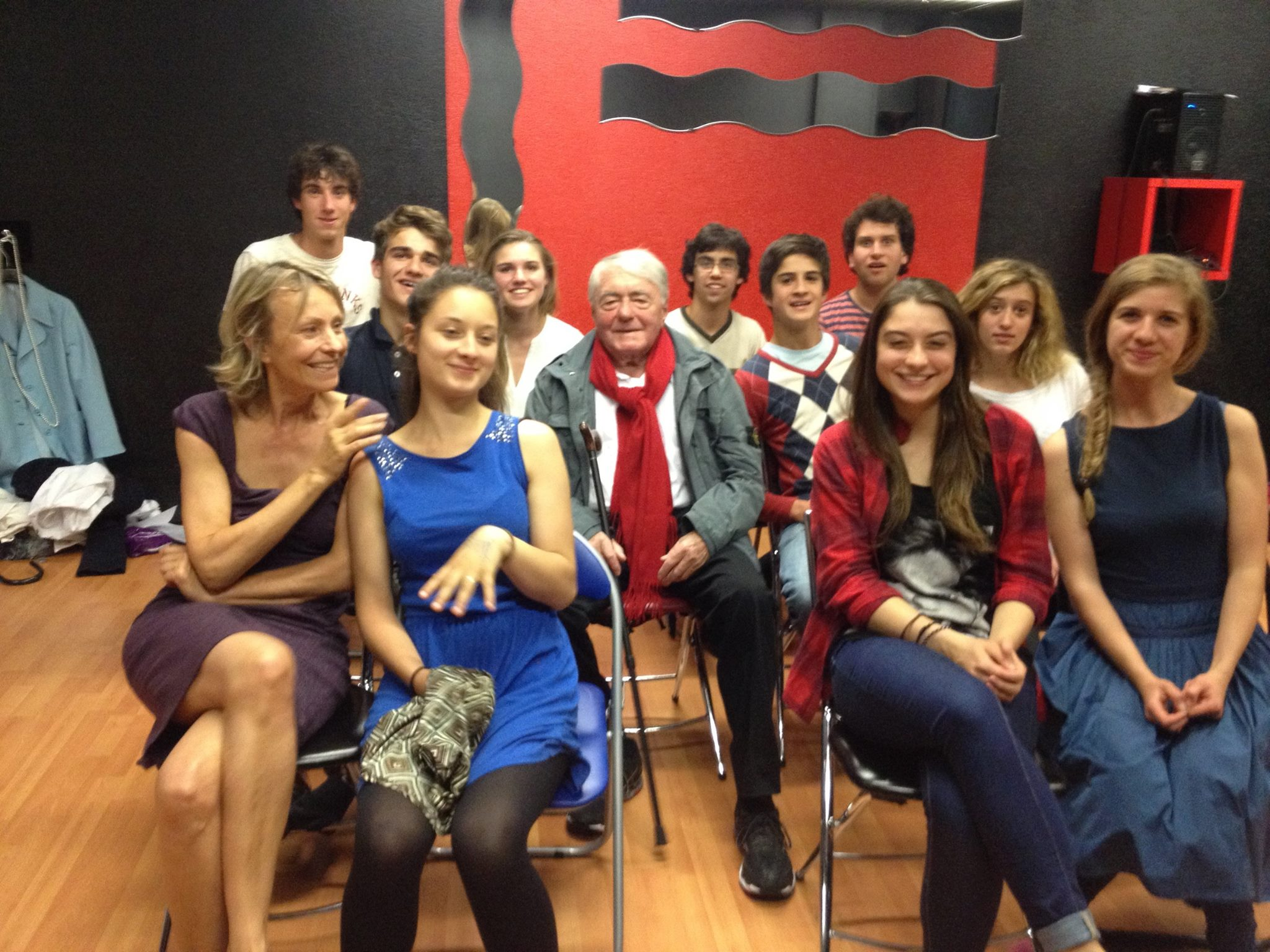 Visite de M.Claude Lanzmann