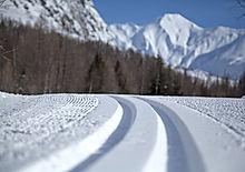 Sci fondo pista Courmayeur