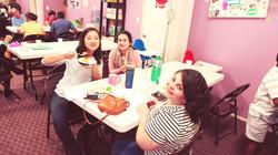 Rachel, Nicki and Jasmine