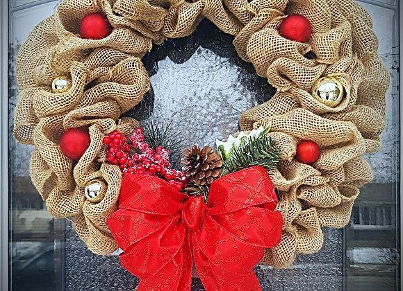 Christmas Wreath Making 1