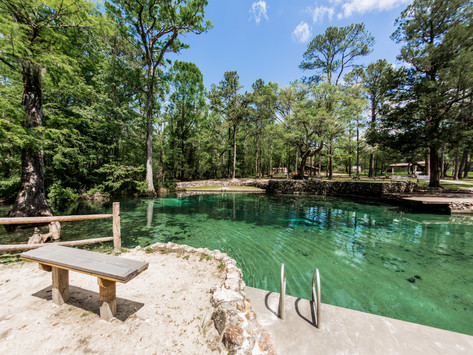 """Ponce De Leon Springs State Park -    One Of The """"Coolest"""" State Parks Around!"""