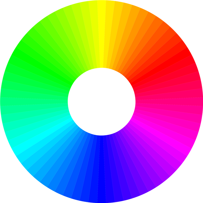 Colour, an emotional trigger to help increase sales