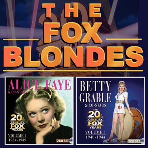 Hollywood Heritage and The Hollywood Foreign Press Association -- The Fox Blondes
