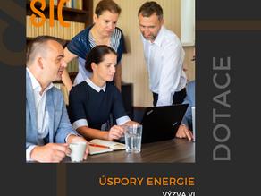 Úspory energie – Výzva VI