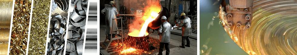 Legierungen, Gießen von Werkstoffen und Bearbeitung