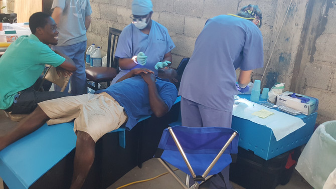 Lahai Roi Welcomes Dental Clinic