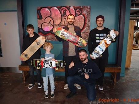 Illuminating the Overlooked - Trowbridge skateboarding exhibition