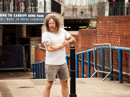 Locality: Cardiff by Christian 'Pirate Man' Hart.
