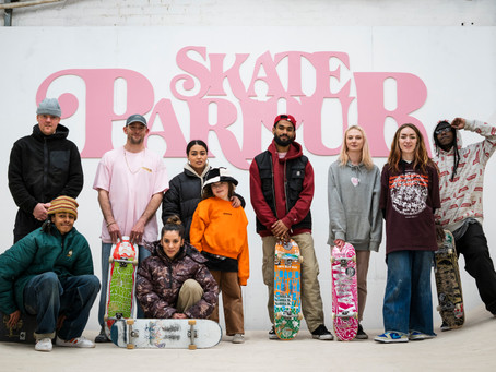 A lock-in at Skate Parlour, Leicester.