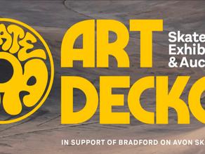 Art Decko - in support of Bradford on Avon skatepark.