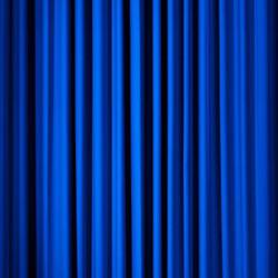 Pipe & Drape- Royal Blue