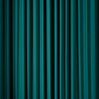 Pipe & Drape- Teal