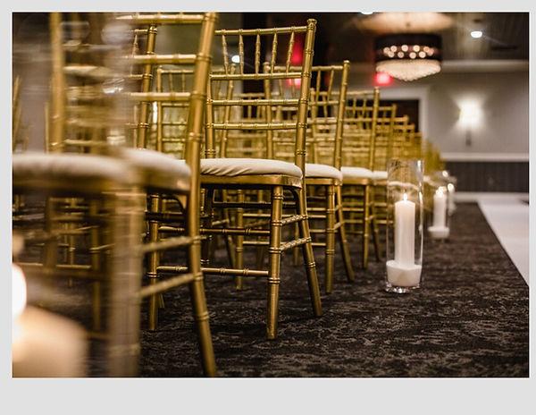 Milwaukee Gold Chiavari Chairs