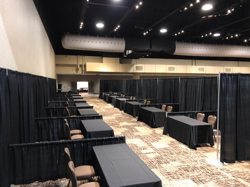 Pipe and Drape Booths Convention