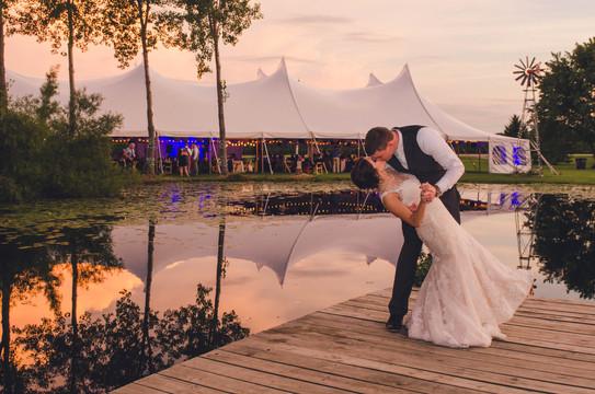 Romantic Outdoor Tent Wedding