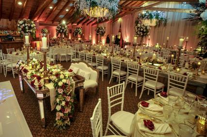 Extravagant Indoor wedding
