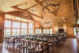 Rustic Indoor Wedding