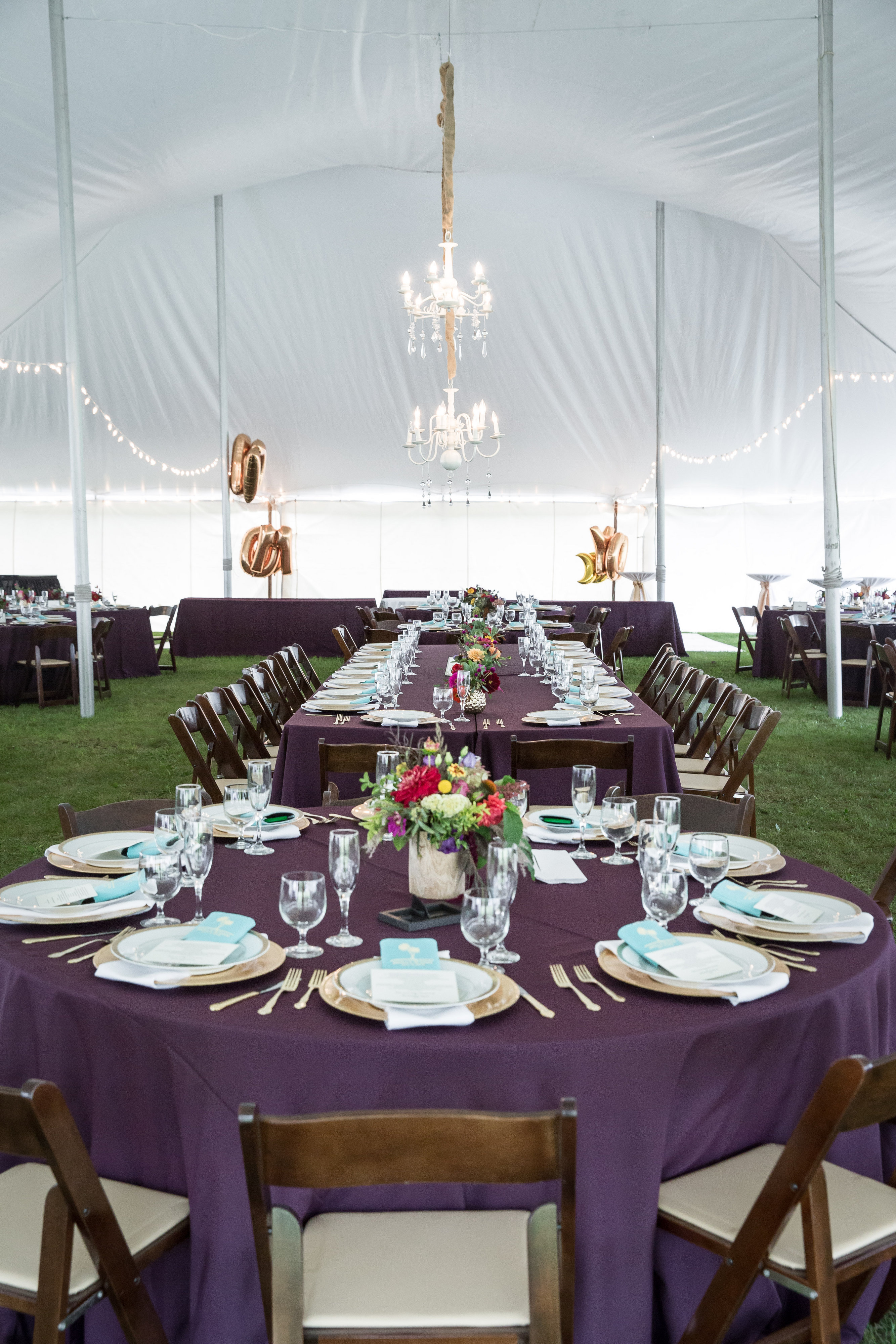 Fall Tent Reception