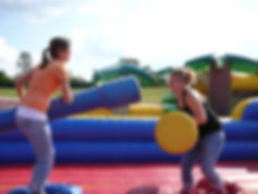 Giant Joust Bounce House Rental