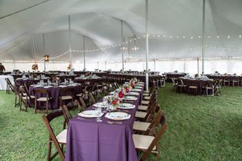 Outdoor Tent Wedding