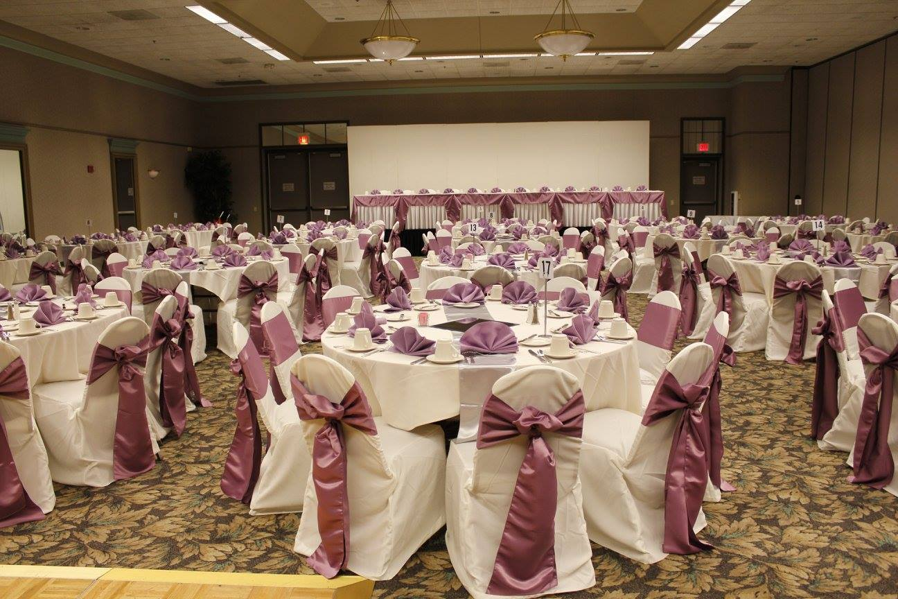 Orchid Wedding Reception