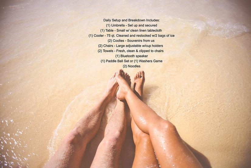 Sunshine & Saltwater Lover's Escape