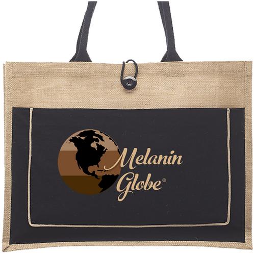 Melanin Globe Reusable Tote Bag