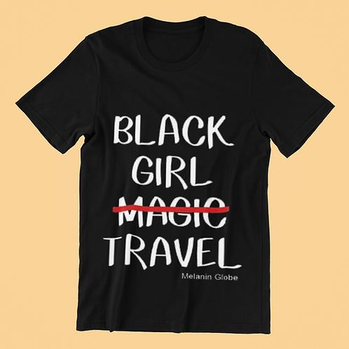 Black Girl Travel Tee